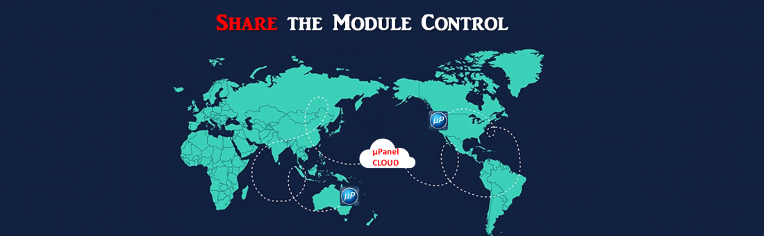 Share the control from remote
